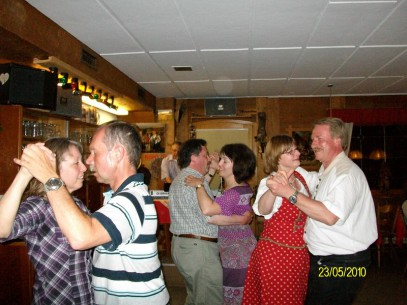 Tanzabend, Bergpanorama, Pfronten